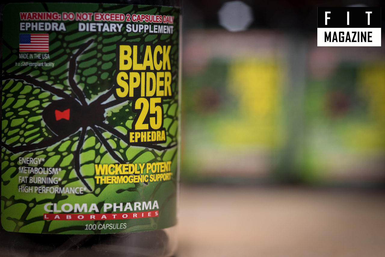 Black Spider 25 Ephedra от Cloma Pharma
