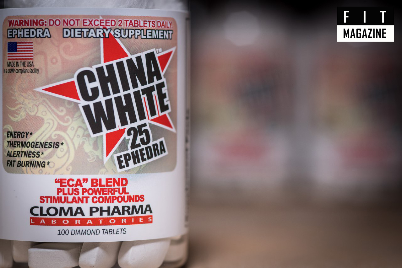 China White 25 Ephedra от Cloma Pharma