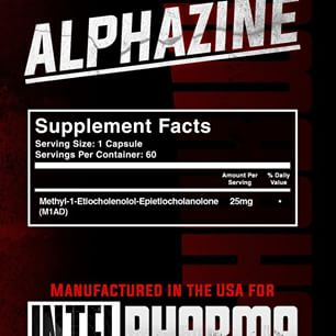 Состав Intel Pharma Alphazine