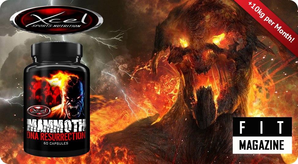 Xcel Sports Nutrition Mammoth DNA Resurrection отзывы