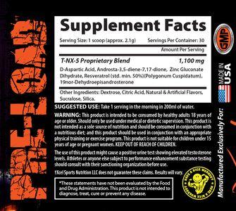 Состав Xcel Sports Nutrition T-NX-5
