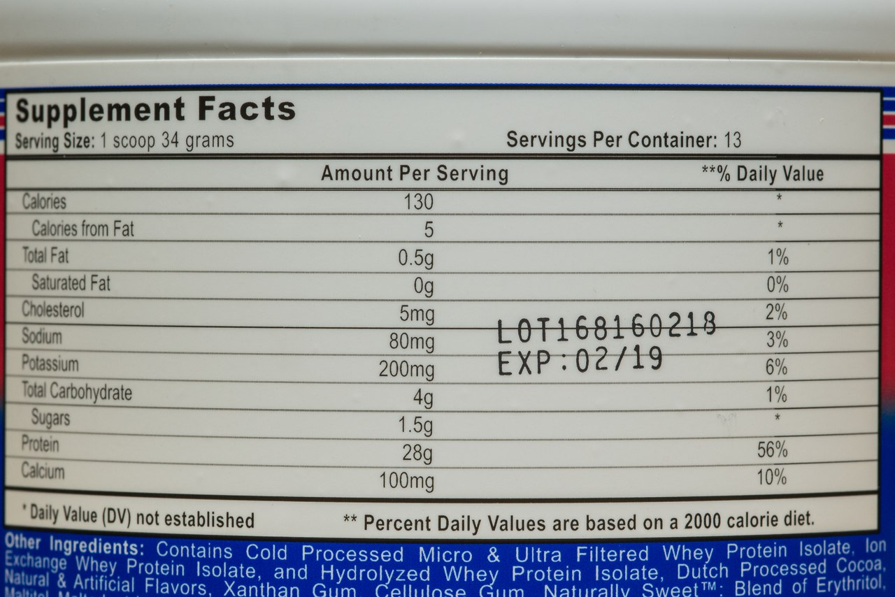 СоставAPS Nutrition Isomorph