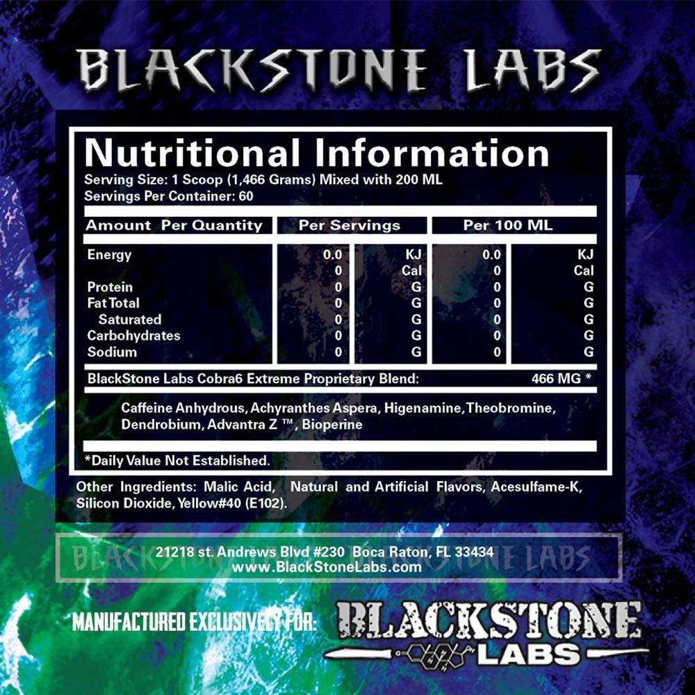Состав Blackstone Labs Cobra 6P Extreme Powder