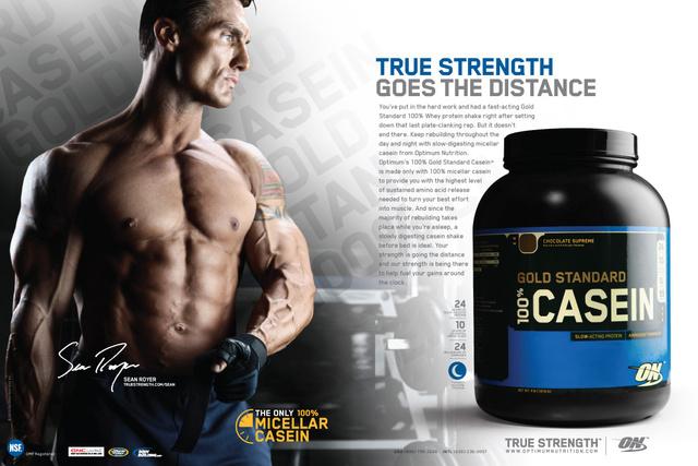 100% Casein Protein 2 lb