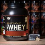 Optimum Nutrition 100% Whey Gold Standart 5 lb (2270 грамм, 72 порций)