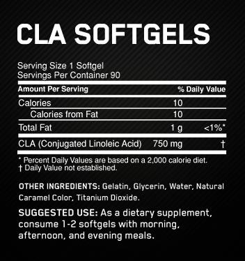 Optimum Nutrition CLA Softgels