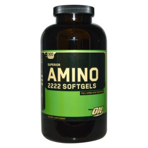 Optimum Nutrition Superior Amino 2222 Softgels