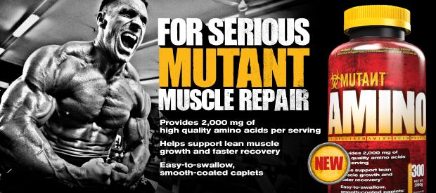 Fit Foods Amino Mutant 600 таблеток