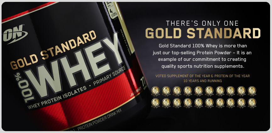Optimum Nutrition 100 Whey Gold Standard 10 lb