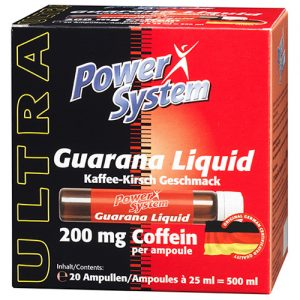 Power System Guarana Liquid 200 мг