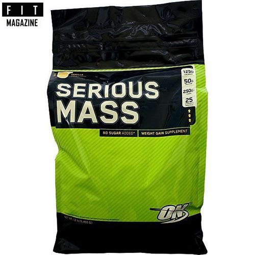 Гейнер Serious Mass от Optimum Nutrition – обзор и отзывы