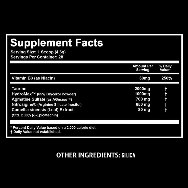 Состав Outbreak Nutrition Serum