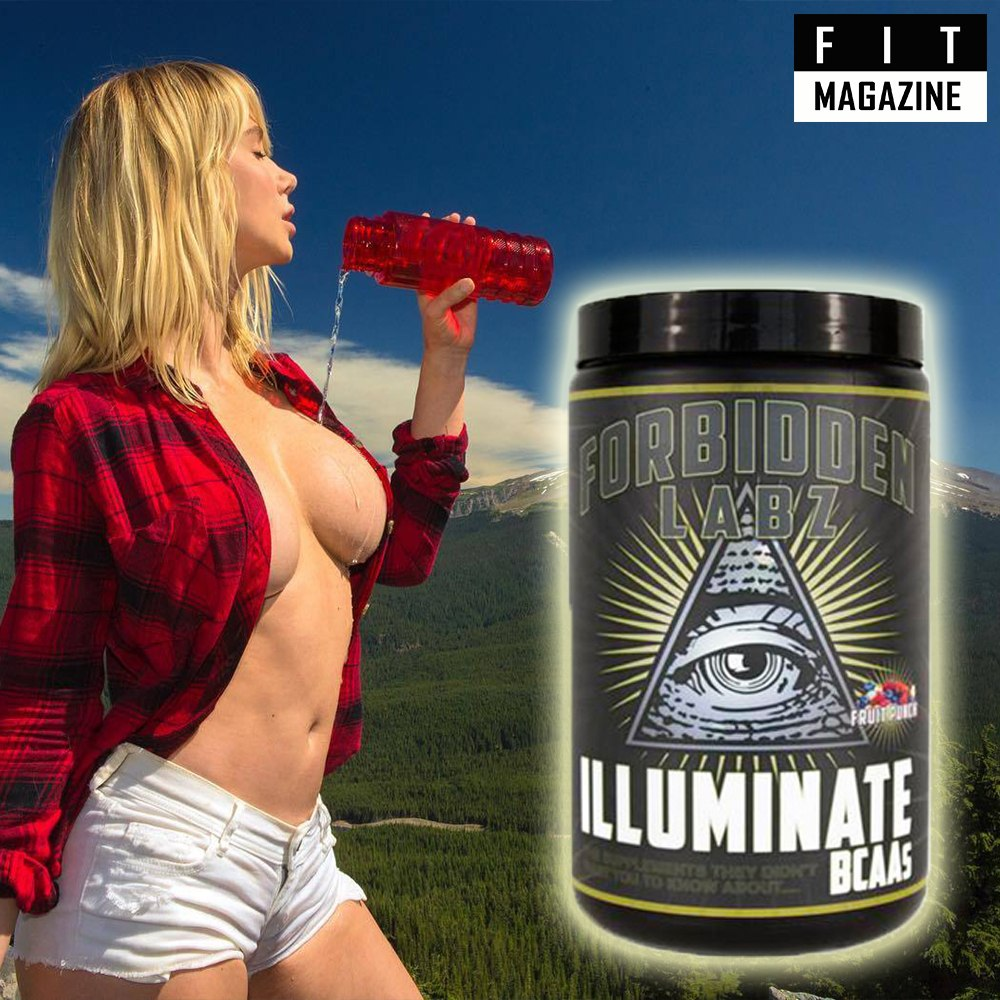 Forbidden Labz Illuminate BCAAs Promo
