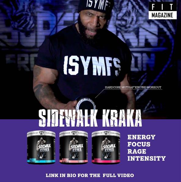 Iron Addicts Brand Sidewalk Kraka промо