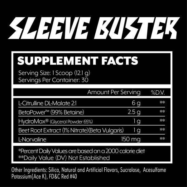 Состав Iron Addicts Brand Sleeve Buster