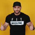 мужская футболка Fit Magazine