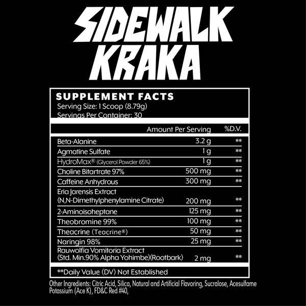 Состав пробника Iron Addicts Brand Sidewalk Kraka