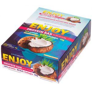 Iso Best Enjoy Protein Bar «Кокос» (коробка)