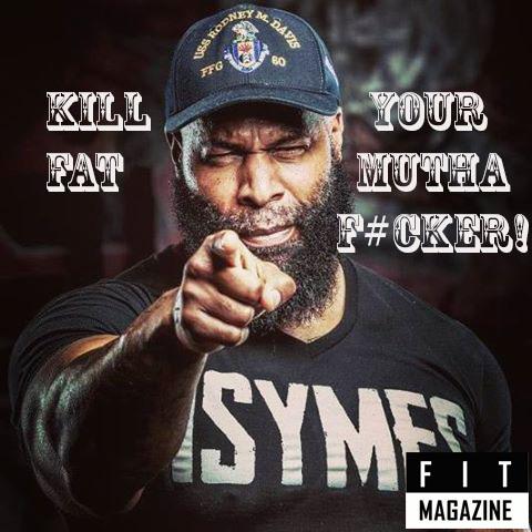 Стек от Iron Addicts Brand «Kill your fat, muthaf#cker!»