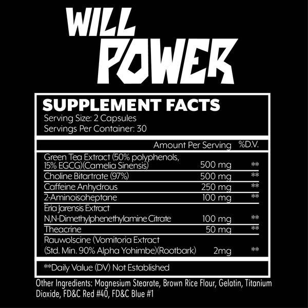 состав Will Power