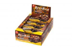Протеиновый батончик Iso Best Best Bar «Шоколадный брауни» (коробка)