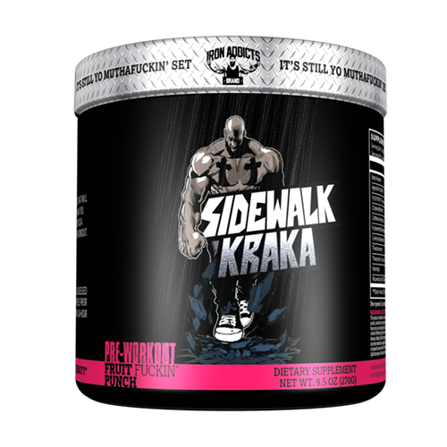 Iron Addicts Brand Sidewalk Kraka
