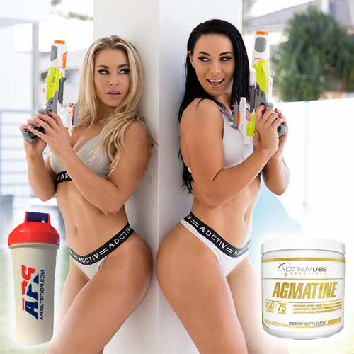 Шейкер APS Nutrition + Agmatine