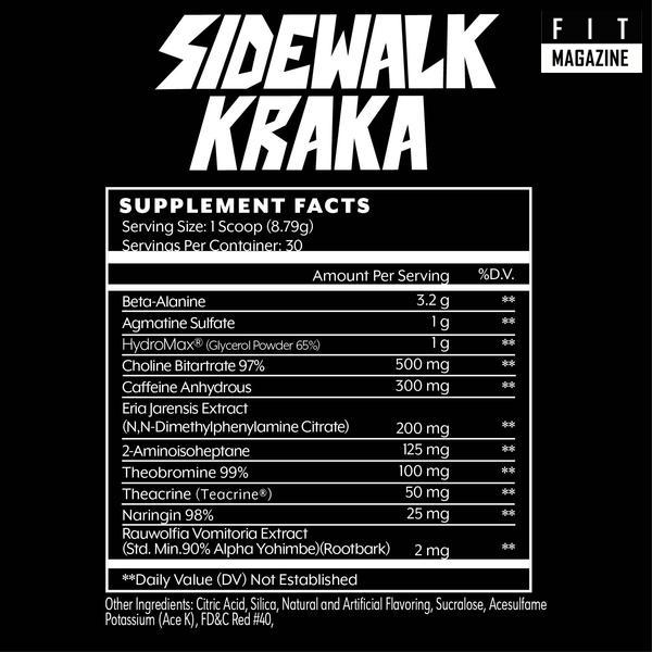 состав Sidewalk Kraka