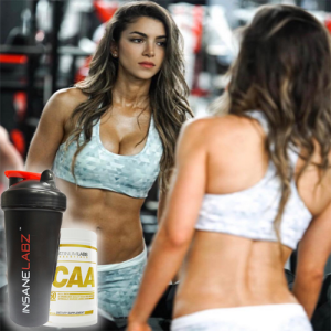 Стек Platinum Labs Essentials BCAA + Шейкер Insane Labz