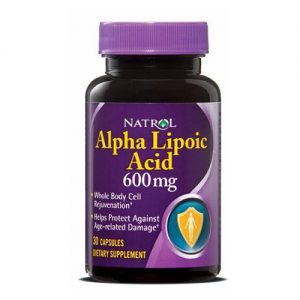 Natrol Alpha Lipoic Acid 600 мг