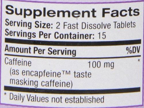 Состав Natrol Caffeine 100 мг