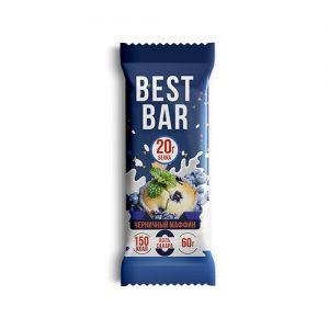 Протеиновый батончик Iso Best Best Bar «Черничный кекс»