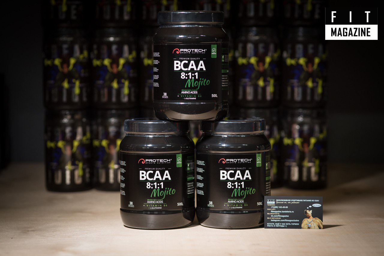 Protech Sport Nutrition BCAA 8:1:1