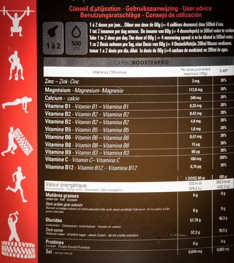Состав Protech Sport Nutrition Wod Booster