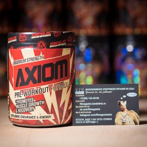 Adrenaline Nutrition Supplements Axiom NEW
