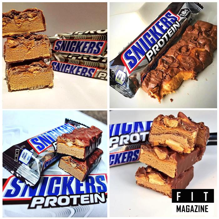 Протеиновый батончик Snickers