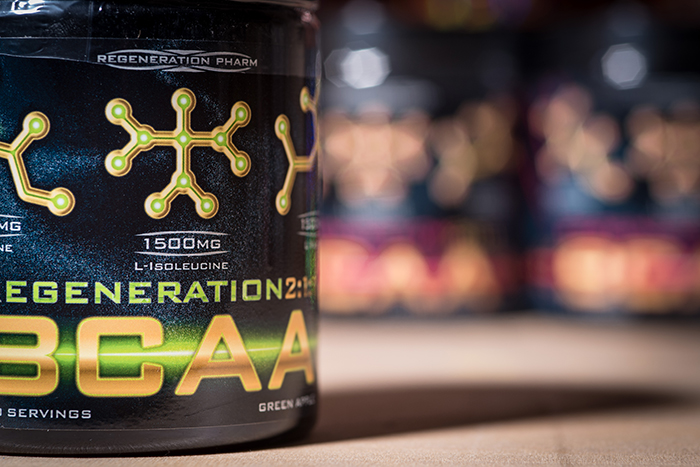 Reg Pharm Regeneration BCAA