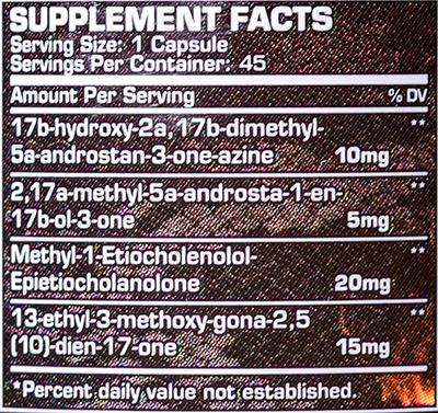 СоставDragon Pharma Hydra