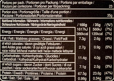 Состав Mars Protein Whey