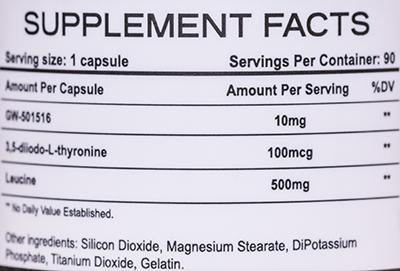 СоставRise Nutraceuticals GW-3L