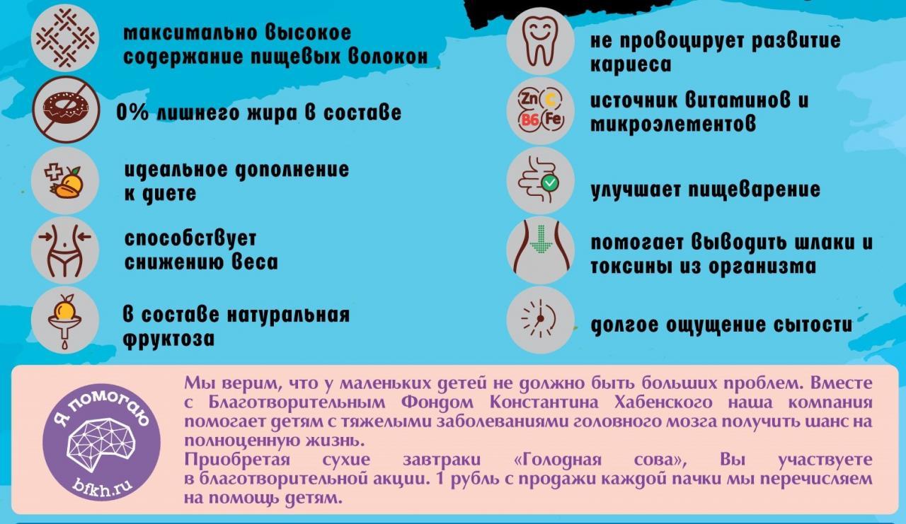 Гранола диетическая