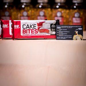 Optimum Nutrition Cake Bites