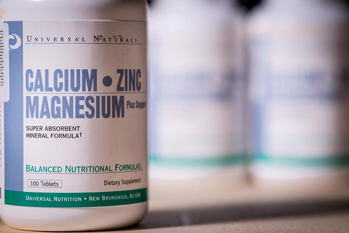 Universal Naturals Calcium Zinc Magnesium