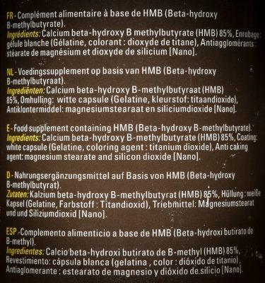 Состав Protech Sport Nutrition HMB 1000