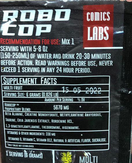 Составпробника Comics Labs Robocop