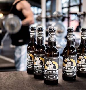 Безалкогольное протеиновое пиво JoyBräu (21 грамм белка на порцию)