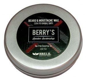 Brelil Berry's Barber Line Beard Moustache Wax 01
