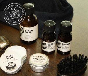 Гигиенический шампунь для бороды и лица Dear Beard Wash