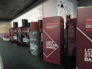 Универсальное Аргановое масло для бритья и ухода за бородой Lock Stock & Barrel Argan Blend Shave Oil