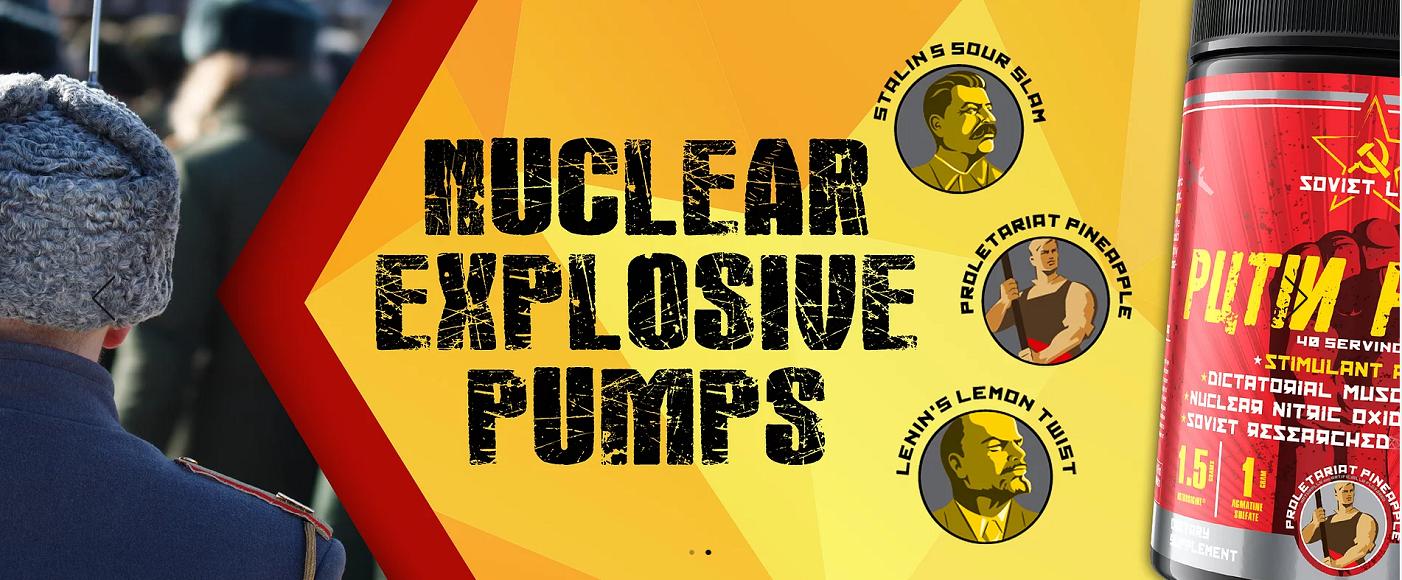 Soviet Labs Putin Pump